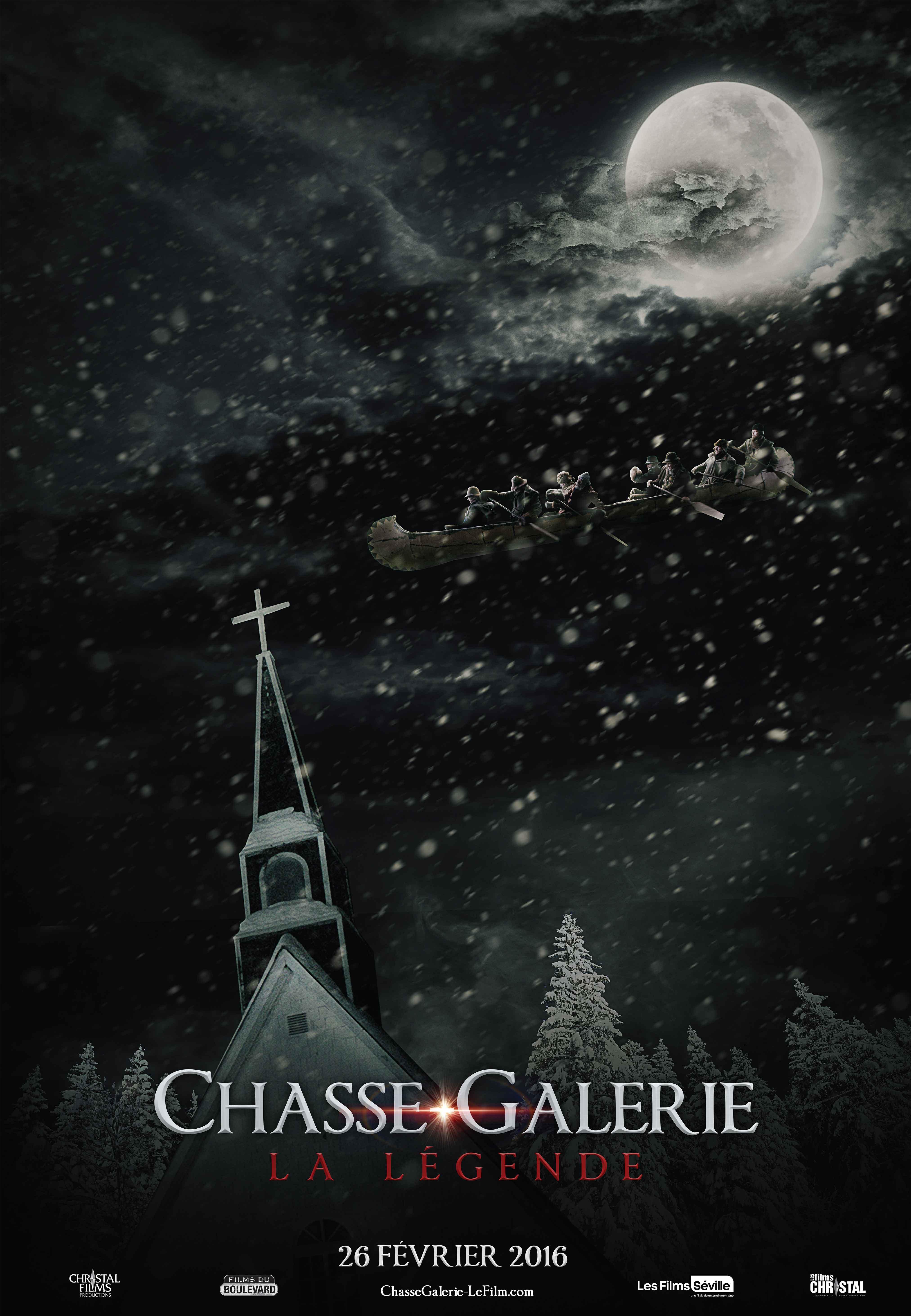Chasse-Galerie: La légende (2016)