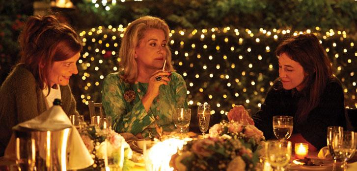 Charlotte Gainsbourg, Catherine Deneuve, Chiara Mastroianni 3 coeurs