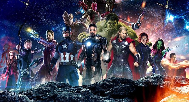 À l'affiche cette semaine: Les Avengers à la belle étoile