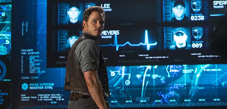 Chris Pratt dans le Monde Jurassique (Jurassic World)