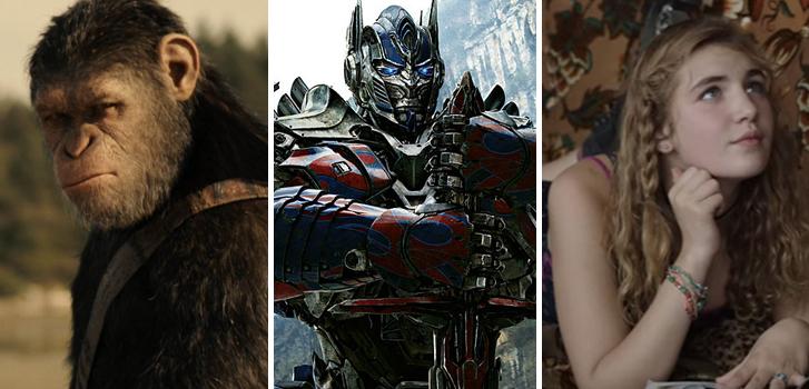Bandes-annonces: Singes et Transformers partent en guerre