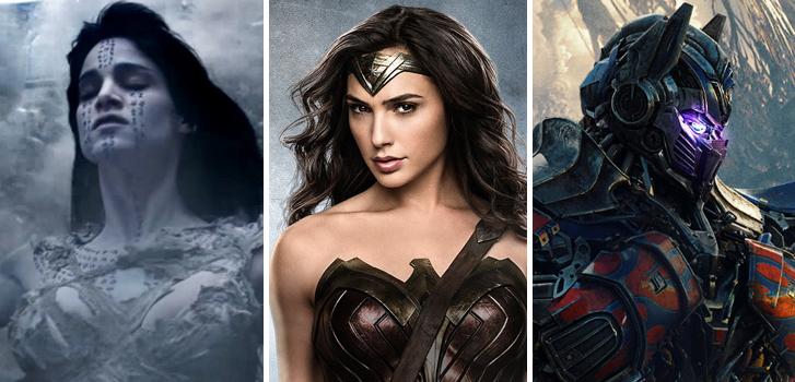 À voir en juin: Wonder Woman, Momie, Transformers et autres aventures estivales