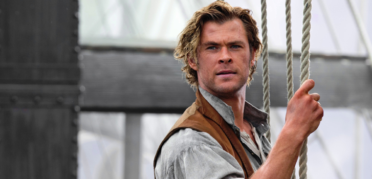 chris hemsworth, in the heart of the sea, photo