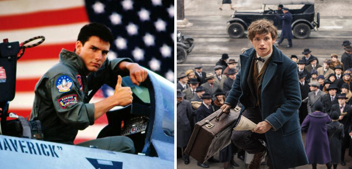 Sequels for Fantastic Beasts and Where to Find Them and Top Gun top our movie news roundup for the long weekend!
