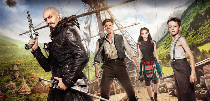 Exploring the world of Joe Wright's Pan with 8 new clips