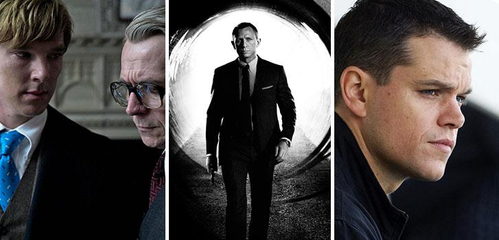 Benedict Cumberbatch, Gary Oldman, Daniel Craig, Matt Damon