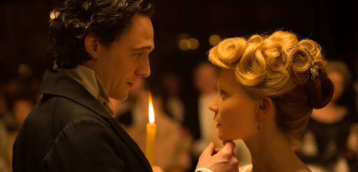 Hiddleston and Chastain welcome Mia Wasikowska to Crimson Peak in first clip