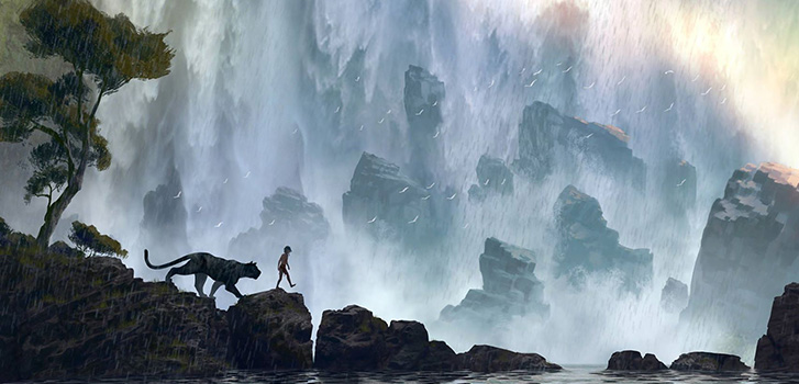 Bill Murray and Scarlett Johansson bring The Jungle Book to life in first trailer