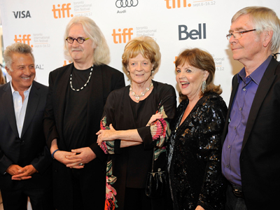 Connolly, Courtenay, Collins talk Hoffman's directorial debut Quartet