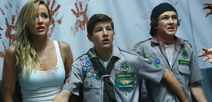 Learn what not to do during a zombie apocalypse in new Scouts Guide to the Zombie Apocalypse featurette