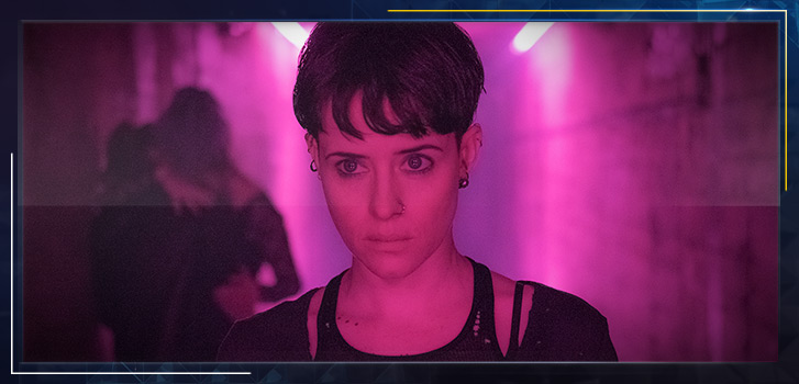 The year of Claire Foy continues with The Girl in the Spider's Web