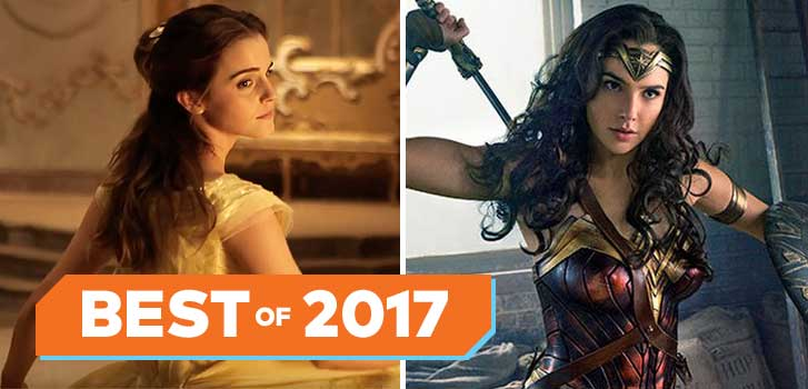 Beauty and the Beast, Wonder Woman, and more of the highest grossing films of 2017