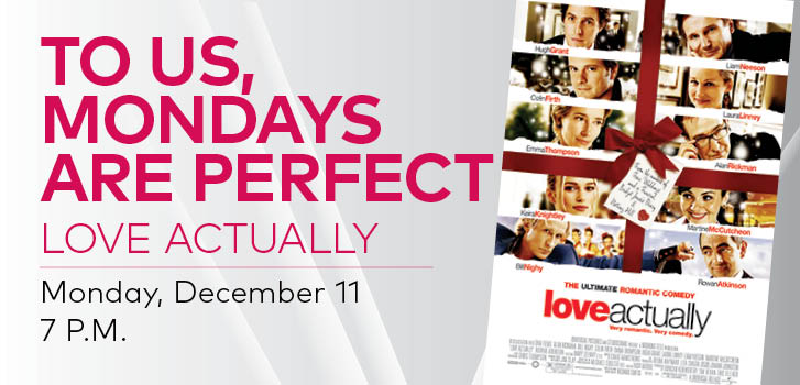 Love, Actually returns to Cineplex for One Night Only!