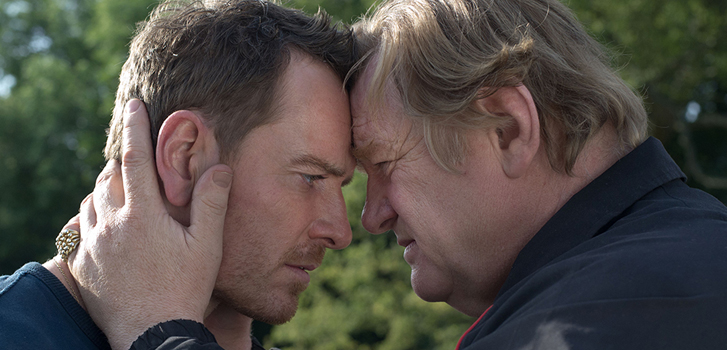 michael fassbender, brendan gleason, trespass against us,