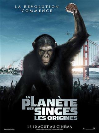 La montée de la planète des singes