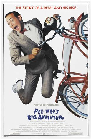 Pee Wee's Big Adventure - A Family Favourites Presentation