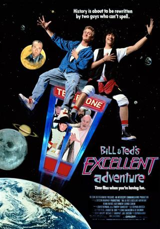 Bill and Ted's Excellent Adventure - 25th Anniversary - A Great Digital Film Festival Presentation