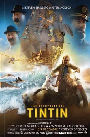 Les aventures de Tintin - Les films en famille (2014)
