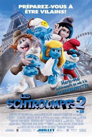 Les Schtroumpfs 2 - Les films en famille