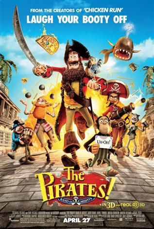 The Pirates! Band of Misfits - A Family Favourites Presentation