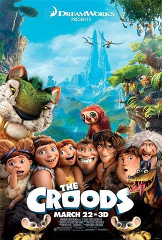 The Croods - A Family Favourites Presentation