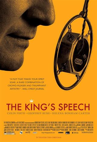 The King's Speech - The Event Screen