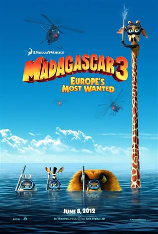 Madagascar 3: Europe's Most Wanted - A Family Favourites Presentation