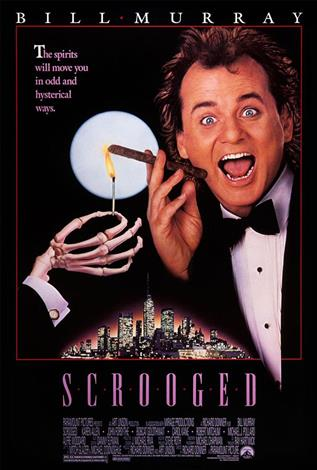 Scrooged - The Event Screen