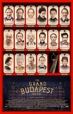 The Grand Budapest Hotel - The Event Screen