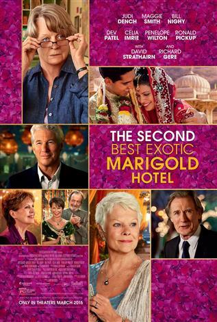 Bienvenue au Marigold Hotel 2 (anglais avec s.t.f.)