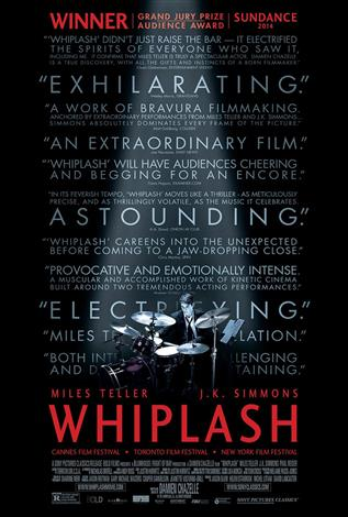 Whiplash - The Event Screen