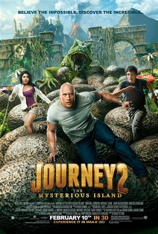 Journey 2: The Mysterious Island - A Family Favourites Presentation