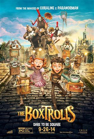 The Boxtrolls - A Family Favourites Presentation