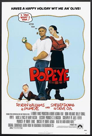 Popeye - A Family Favourites Presentation
