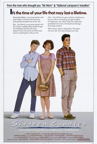 Sixteen Candles - The Event Screen