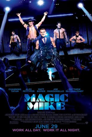 Magic Mike - The Event Screen