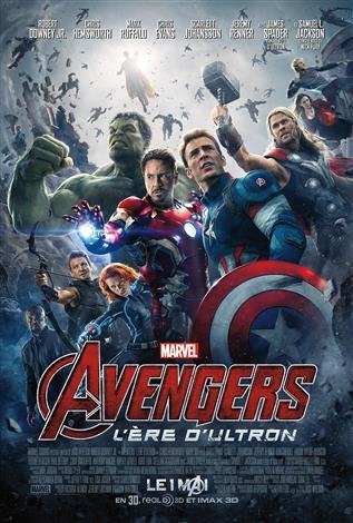 Avengers : L'ère d'Ultron L'Expérience IMAX 3D