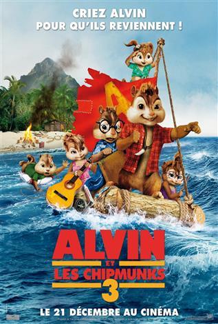 Alvin et les Chipmunks 3: Les naufragés - Les films en famille