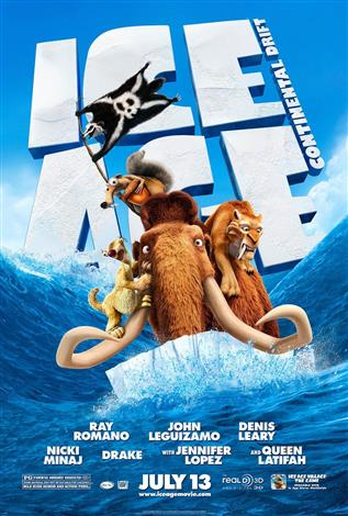 Ice Age 4: Continental Drift - A Family Favourites Presentation