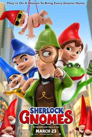 Sherlock Gnomes - Family Favourites