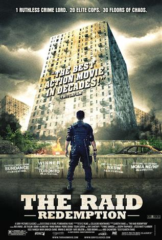 The Raid: Redemption (Indonesian w/e.s.t.) - The Event Screen