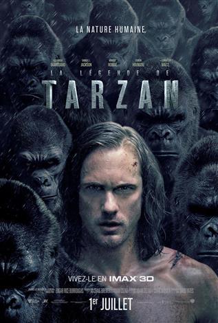 La légende de Tarzan – L'Expérience IMAX 3D (Version Française)