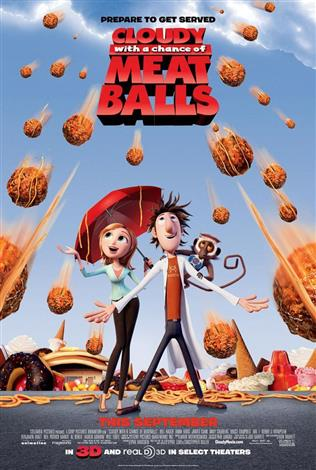 Cloudy With a Chance of Meatballs - A Family Favourites Presentation