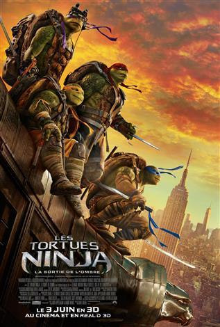 Les Tortues Ninja: La sortie de l'ombre - Les films en Famille