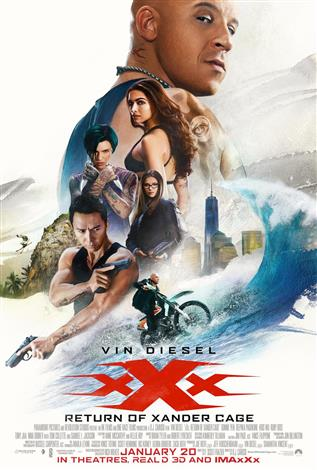xXx: The Return Of Xander Cage - An IMAX 3D Experience®