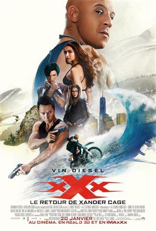 Le retour de Xander Cage - L'Expérience IMAX 3D
