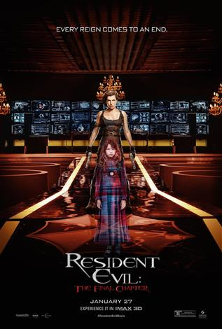 Resident Evil: The Final Chapter - An IMAX 3D Experience®