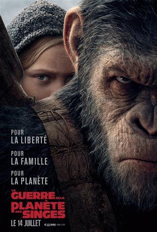 La guerre de la planète des singes