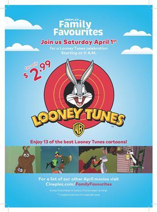 A Looney Tunes Cartoon Celebration - A Family Favourites Presentation