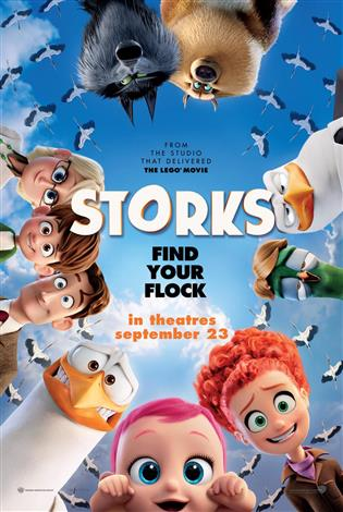 Storks - A Family Favourites Presentation (2017)